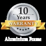 10-years-warranty-auminium-frame-icon