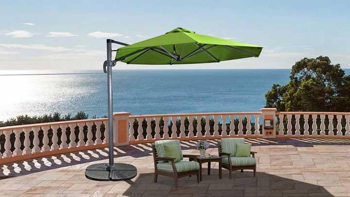 EASY ROMA - One Step Cantilever Umbrella