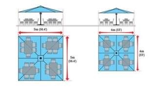 <p>U10-404<br>Square 13' x 13' (4 x 4m)</p>